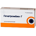 Гепатромбин Г — инструкция по применению (мазь, свечи), действующие компоненты, состав, цена препарата