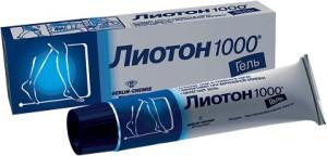 Лиотон гель 1000: инструкция по применению (официальная)