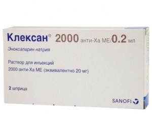 Препарат Клексан является аналогом Лиотона