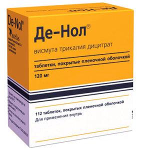 Де Нол: инструкция по применению и описание препарата