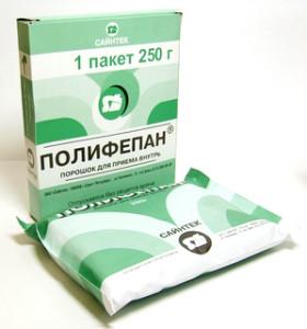 Полифепан является препаратом аналогом Смекты