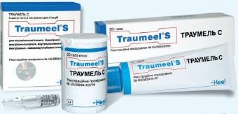 Траумель: инструкция по применению гомеопатического препарата
