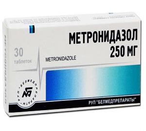 Метронидазол применяется в лечении язвы желудка