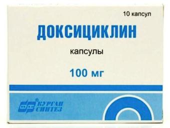 Доксициклин: инструкция по применению и описание препарата