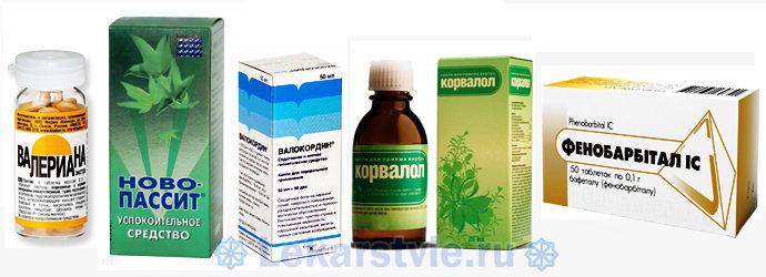 Тахикардия: лечение в домашних условиях лекарственными препаратами успокоительного воздействия (Валериана, Новопассит, Валокордин, Корвалол, Фенобарбитал)