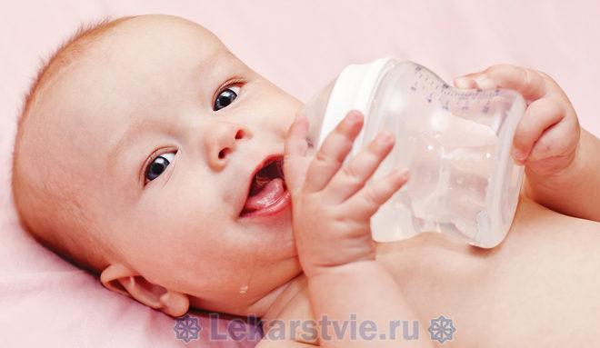 Плантекс чай помогает малышу и маме пережить первые три месяца без колик