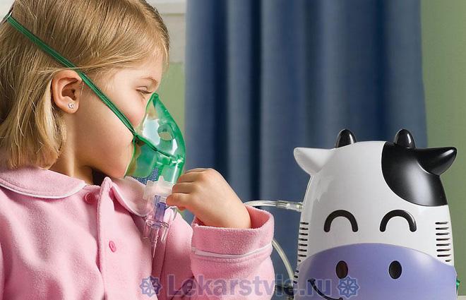 Ложный круп требудет комплекного лечения, включающего использование небулайзера