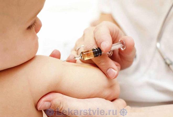 Вакцинация ребенка как один из способов борьбы со столбняком