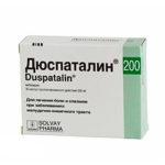 Дюспаталин — официальная инструкция по применению (в форме капсул), показания и противопоказания, препараты аналоги