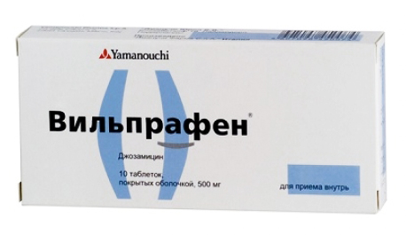 вильпрафен инструкция для гинекологии