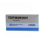 Тержинан — официальная инструкция по применению (в форме вагинальных таблеток), показания и противопоказания, аналоги