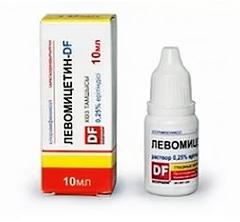 Левомицетин: инструкция по применению (глазные капли)