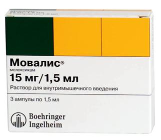 Мовалис: инструкция по применению препарата