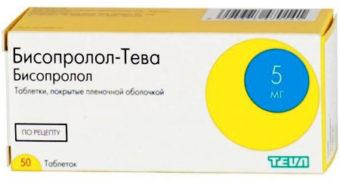 Бисопролол: инструкция по применению, показания от чего эти таблетки.