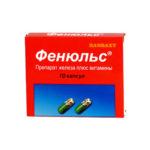 Фенюльс — официальная инструкция по применению (в форме капсул), показания и противопоказания, препараты аналоги