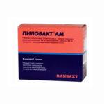Пилобакт АМ — официальная инструкция по применению (в форме таблеток и капсул), краткое описание препарата и обзор отзывов
