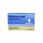 Норбактин — официальная инструкция по применению (в форме таблеток), общая характеристика препарата, аналоги