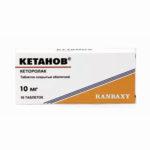 Кетанов — официальная инструкция по применению (в форме таблеток), показания и противопоказания, препараты аналоги