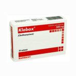 Клабакс — официальная инструкция по применению (в форме таблеток), описание препарата, средства аналогичного действия