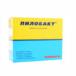 Пилобакт — официальная инструкция по применению (в форме таблеток и капсул), формы выпуска, аналоги и отзывы